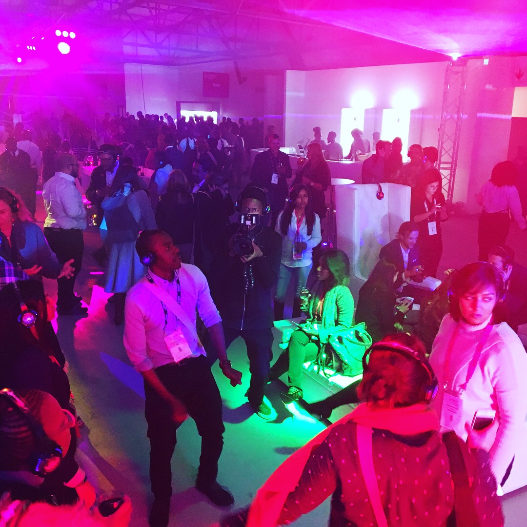 SingularityU Silent Disco at Kyalami Grand Prix Circuit by Silent Events